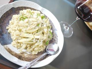 ちりめん雑魚と野菜のリゾット カレー風味