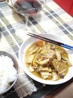 豚とキノコの中華風炒め
