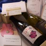 [ご結婚お祝い] 紅白ワインと6ペンスコイン