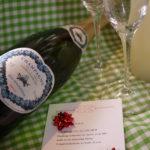 ご結婚祝いのメッセージ♪人気のシャンパーニュとグラスセット