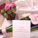 祝♡お誕生日&結婚記念日 ~家族愛あふれるハートラベルの美味しいシャンパン