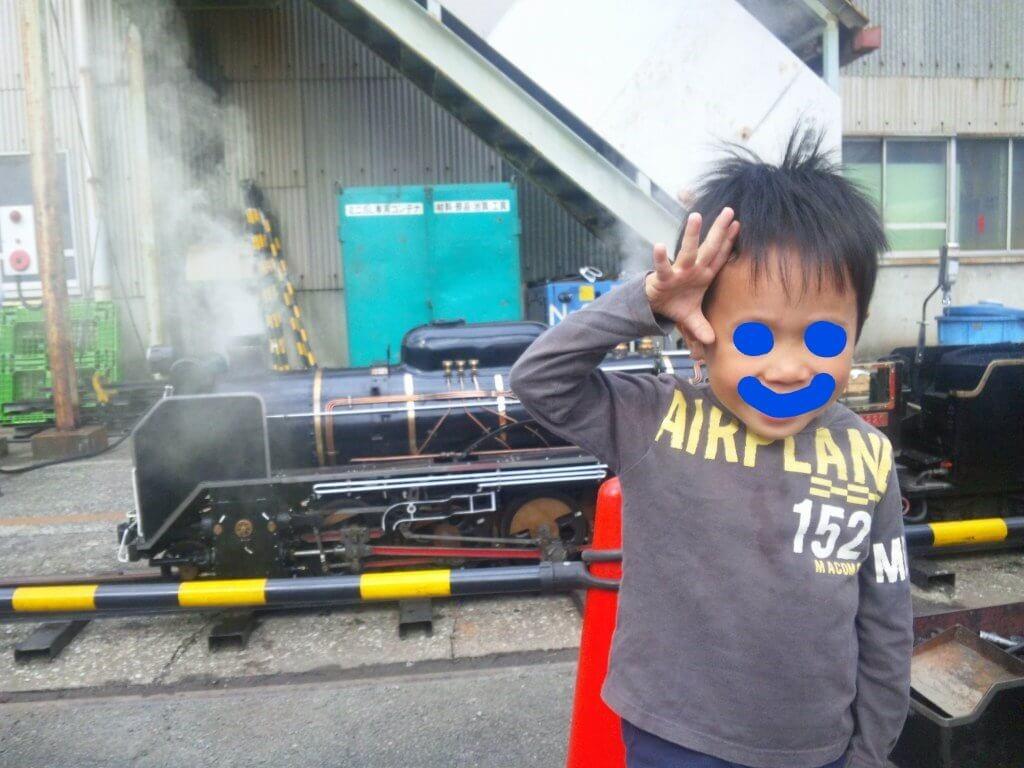 ミニ蒸気機関車