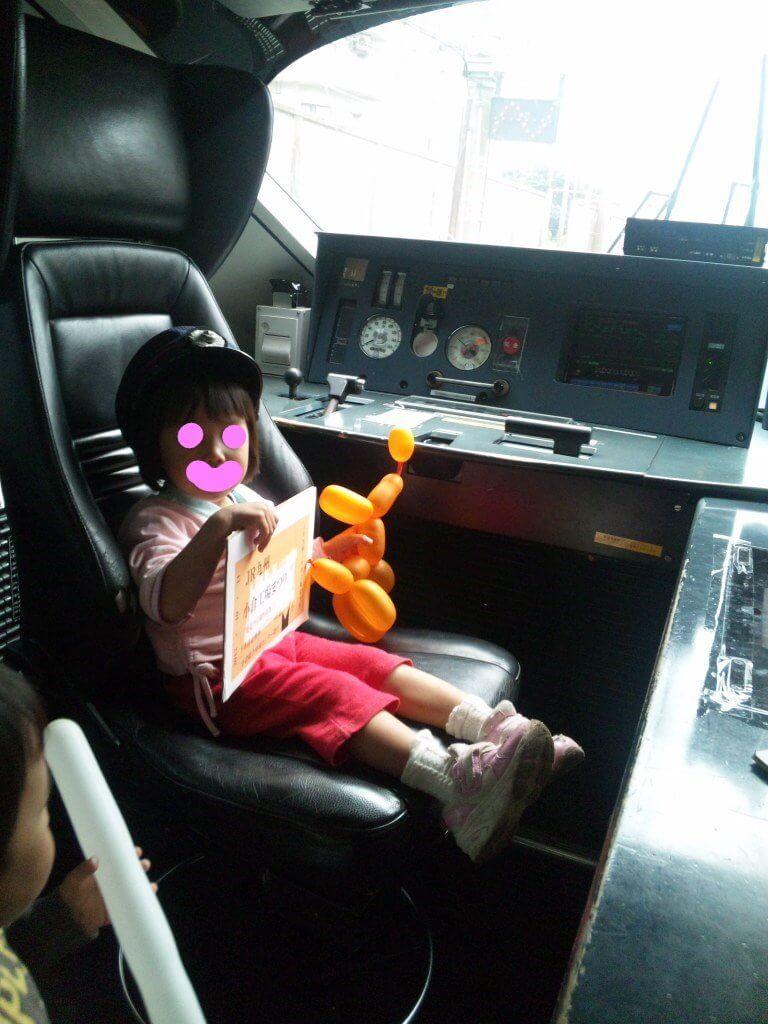 本物の運転席