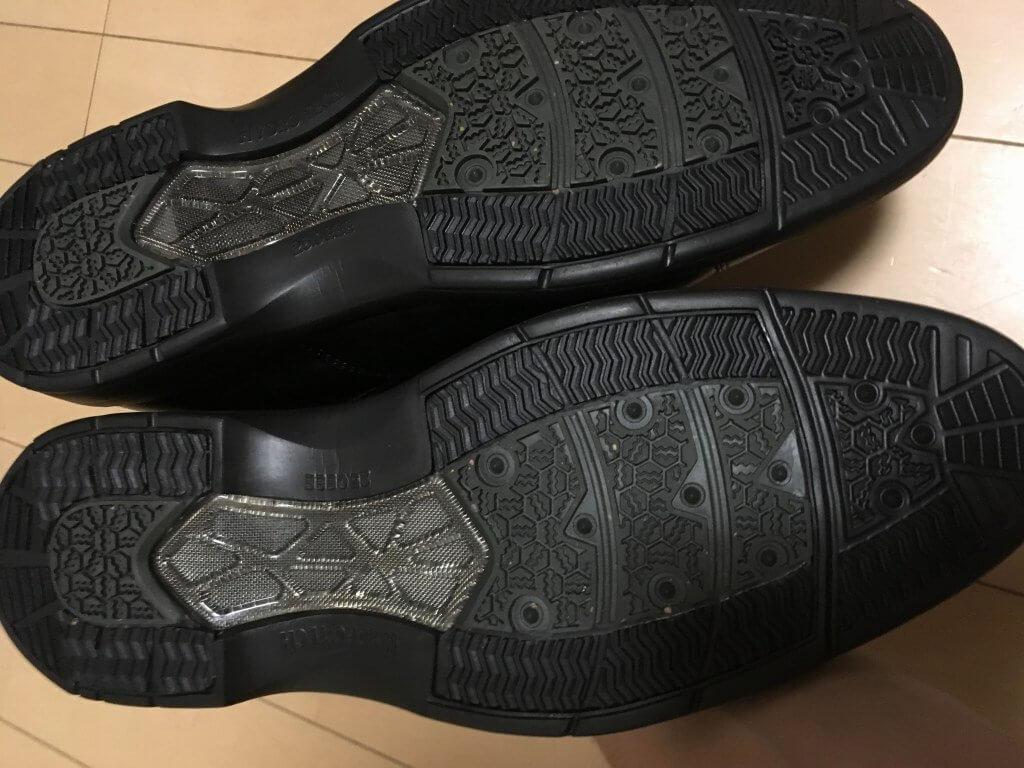 ハイドロテック・ブルークコレクション・ストレートチップの靴底