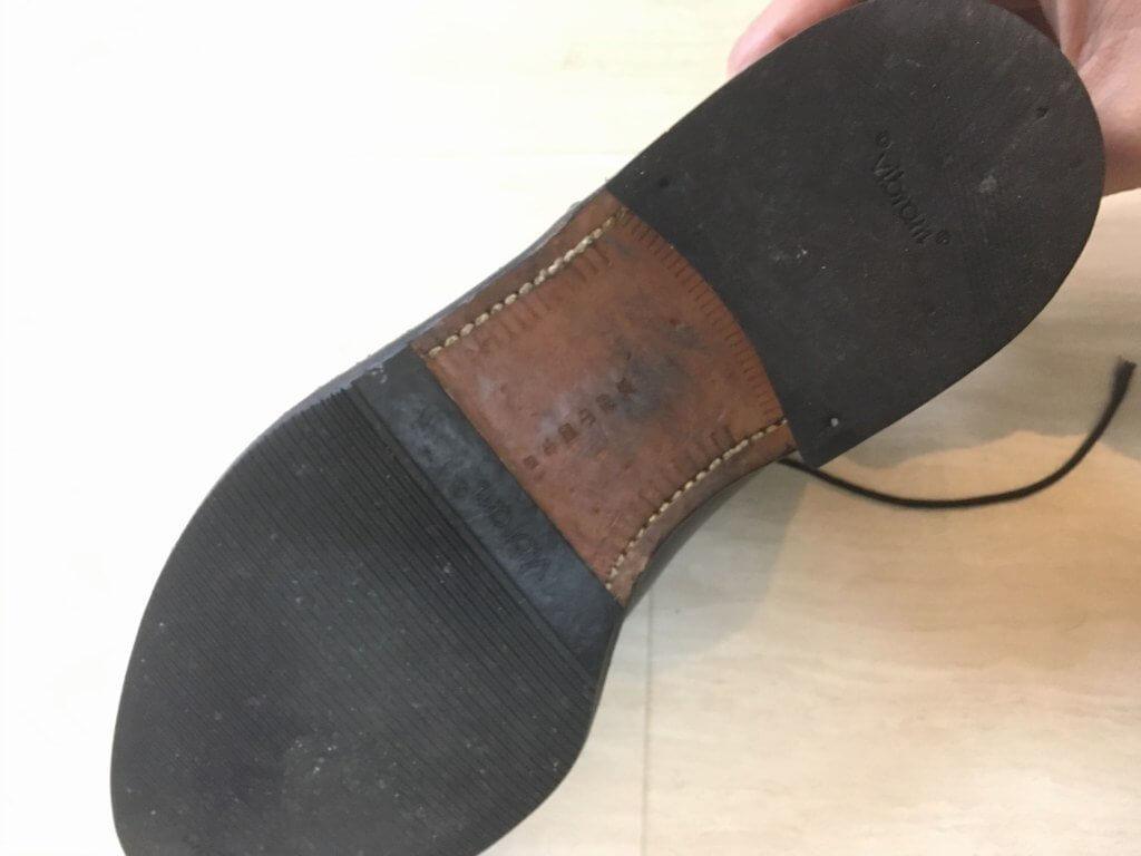 本革の靴底