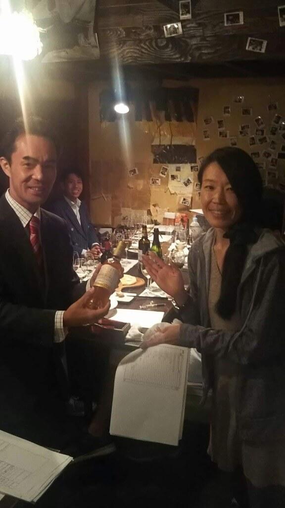 優勝賞品は藤井さんがイタリアで買ってきたデザートワイン!