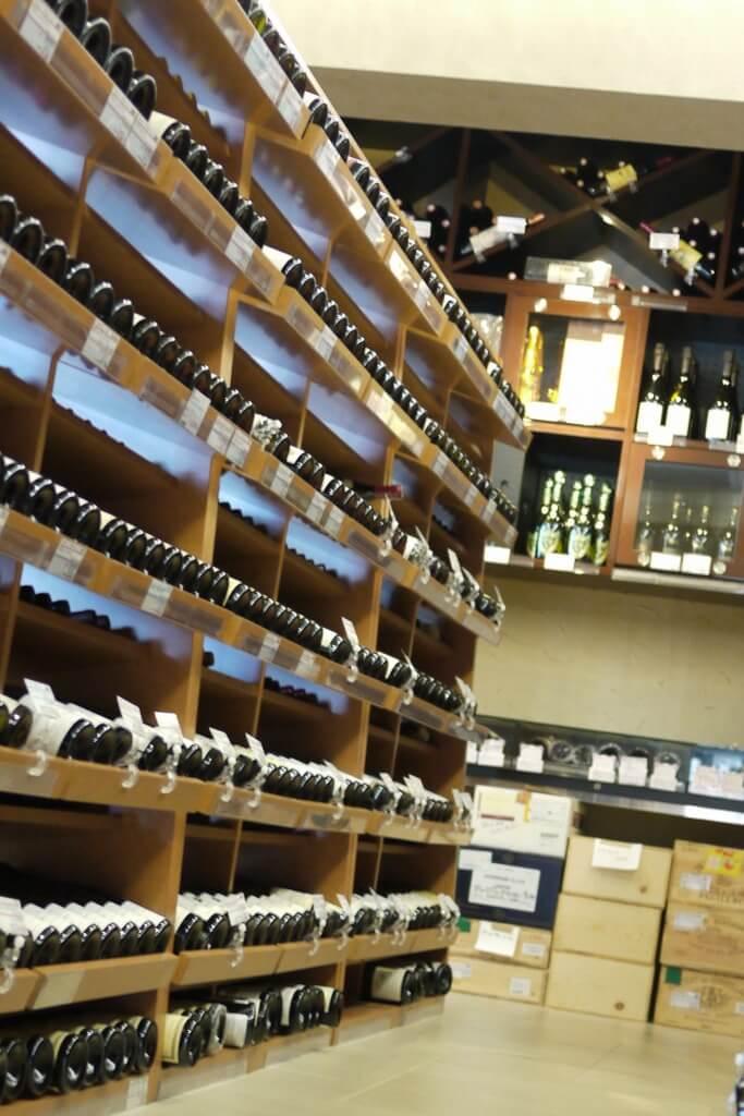 たくさんのワイン